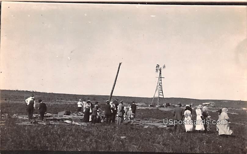 Cyclone Disaster - Misc, Texas TX Postcard