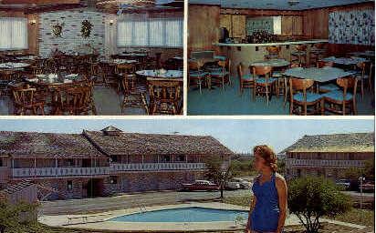 The Viking Motor Hotel - Port Lavaca, Texas TX Postcard