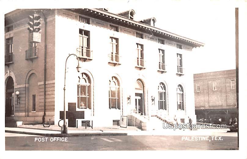 Post Office - Palestine, Texas TX Postcard