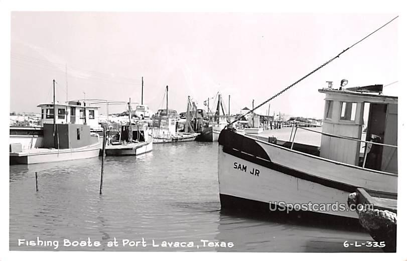 Fishing Boats - Port Lavaca, Texas TX Postcard
