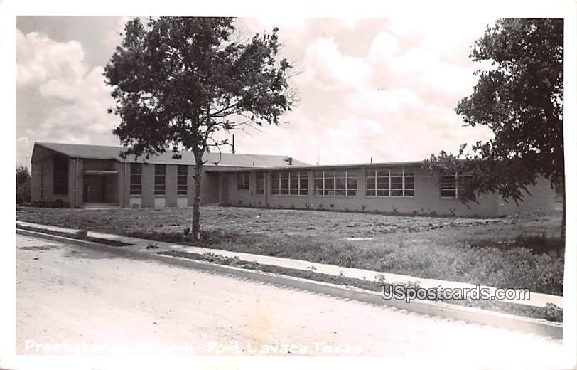 Presbyterian Church - Port Lavaca, Texas TX Postcard