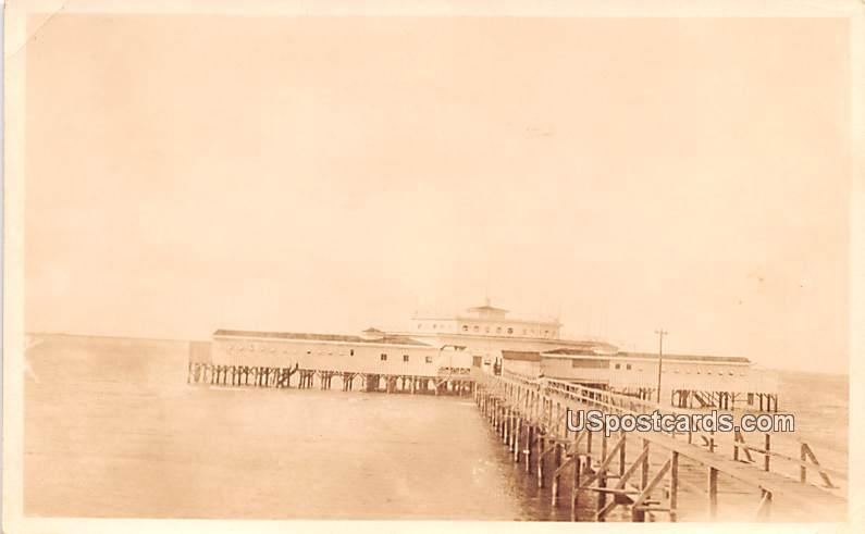 Pier - Placios, Texas TX Postcard