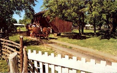 Lyndon B. Johnson Park - Johnson City, Texas TX Postcard