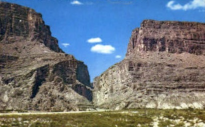 Santa Elena Canyon  - Big Bend National Park, Texas TX Postcard