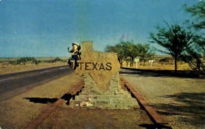 Misc, Texas, TX Postcard