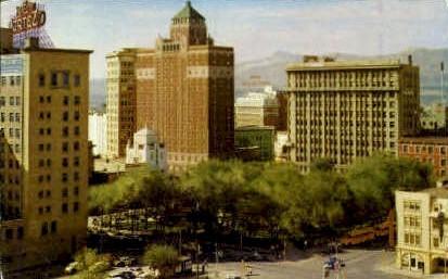 The Plaza - El Paso, Texas TX Postcard
