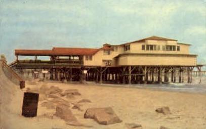 Murdock Beach - Galveston, Texas TX Postcard