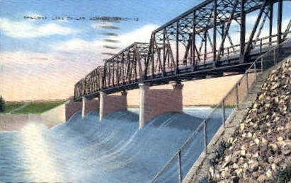 Lake Dallas - Denton, Texas TX Postcard