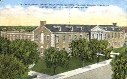 North Texas Teachers College - Denton Postcard