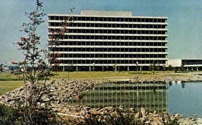 Manned Spacecraft Center - Houston, Texas TX Postcard