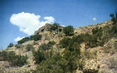 El Coronado Ladge - Palo Duro Canyon, Texas TX Postcard
