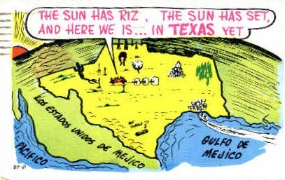 Texas Picture - Misc Postcard