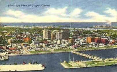 Corpus Christi, Texas, TX Postcard