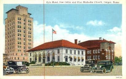 Kyle Hotel - Temple, Texas TX Postcard