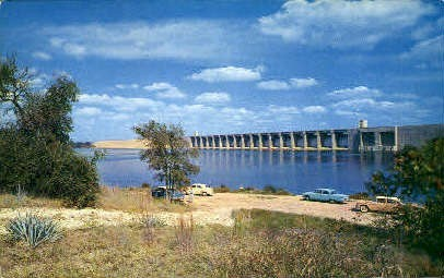 Lake Whitney - Fort Worth, Texas TX Postcard