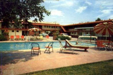 El Patio Motel - San Angelo, Texas TX Postcard