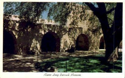 Alamo Long Barrack Museum - San Antonio, Texas TX Postcard