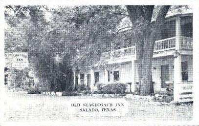 Stagecoach Inn - Salado, Texas TX Postcard