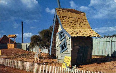 Storybook Land - Irving, Texas TX Postcard