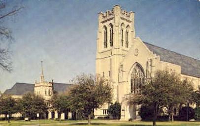 Highland Park Methodist Church - Dallas, Texas TX Postcard