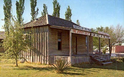 Law West of the Pecos - Texas TX Postcard