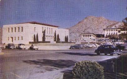 College of Mines and Metallurgy - El Paso, Texas TX Postcard