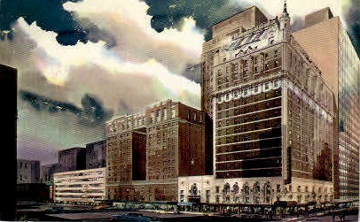 Hotel Adolphus - Dallas, Texas TX Postcard
