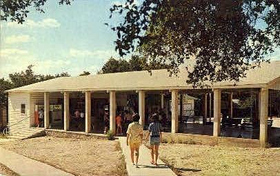 Mount Wesley - Kerrville, Texas TX Postcard