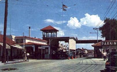 U. S. Customs Immigration - El Paso, Texas TX Postcard