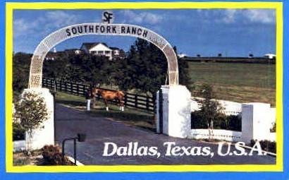 Southfork ranch - Dallas, Texas TX Postcard