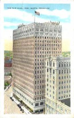 The Fair Building - Fort Worth, Texas TX Postcard