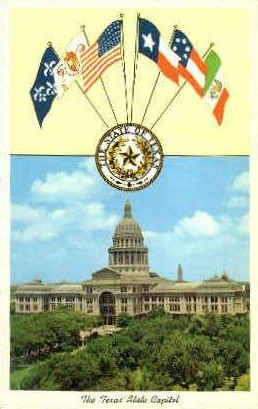 State Capitol - Austin, Texas TX Postcard