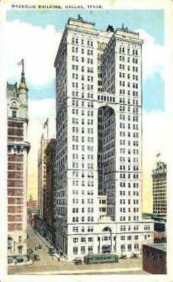 Magnolia Building - Dallas, Texas TX Postcard