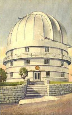 University of Texas - Mount Locke Postcard