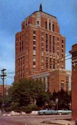 Jefferson County Court House - Beaumont, Texas TX Postcard