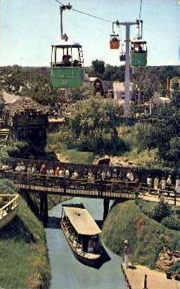 River Boats - Dallas, Texas TX Postcard