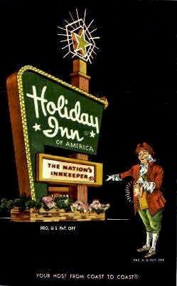 Holiday Inn - Temple, Texas TX Postcard