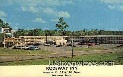 Rodeway Inn - Beaumont, Texas TX Postcard