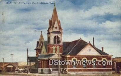 Methodist Episcopal Church - Childress, Texas TX Postcard