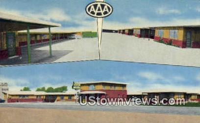 Plainsman Motel - Amarillo, Texas TX Postcard