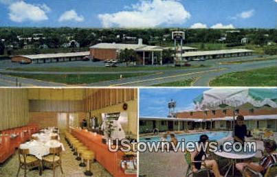 Colonial Inn - Abilene, Texas TX Postcard