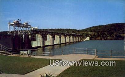 Tom Miller Dam - Austin, Texas TX Postcard