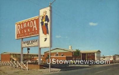 Ramada Inn - Pecos, Texas TX Postcard