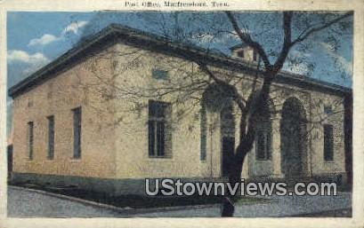 Post Office - Murfreesboro, Texas TX Postcard