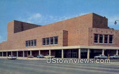 Moody Center - Galveston, Texas TX Postcard