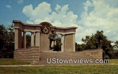 Vicksburg National Military Park - Misc, Texas TX Postcard