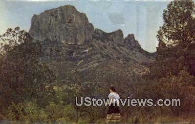 Casa Grande Peak - Big Bend National Park, Texas TX Postcard