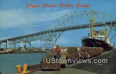 Port Corpus Christi, Texas      ;     Port Corpus Christi, TX Postcard