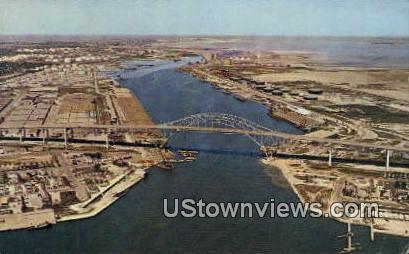Harbor Bridge - Misc, Texas TX Postcard