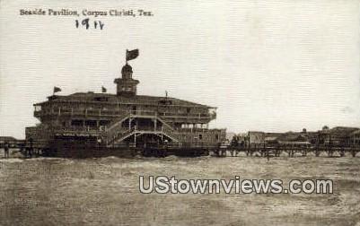Seaside Pavilion - Corpus Christi, Texas TX Postcard